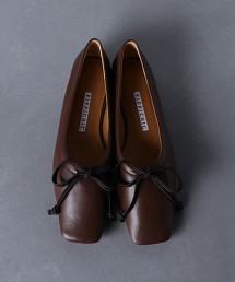 【特別訂製】<PIPPICHIC>羊皮方頭平底鞋 日本製