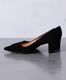 UBCB 尖頭厚跟包鞋