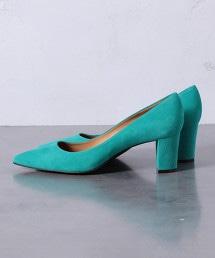 UBCB 尖頭厚跟包鞋 OUTLET商品