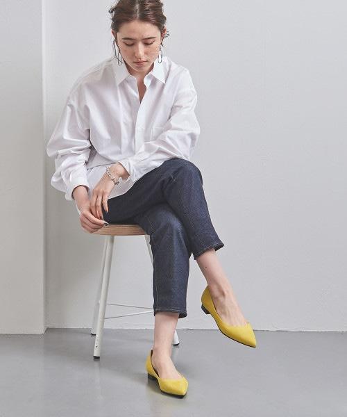 UBCB 尖頭鞋 柔軟 平底包鞋 OUTLET商品