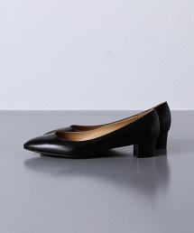 UWCB 杏仁頭厚跟鞋