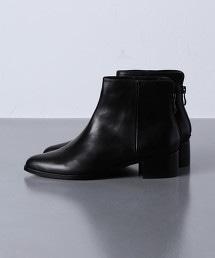 UBCB 尖頭後拉鍊短靴 OUTLET商品