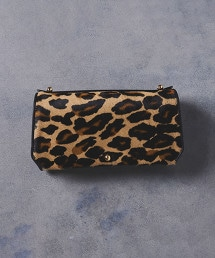 <PotioR>豹紋 皮夾式化妝包
