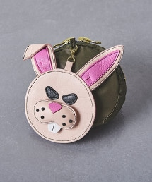 特別訂製商品<LUDLOW >ANIMAL POCKETABLE 手提包 PINK† OUTLET商品