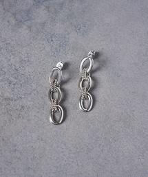 <PHILIPPE AUDIBERT>KARA 環形 鎖鏈耳環