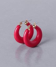 UWFM GLS RESIN 環形 耳釘