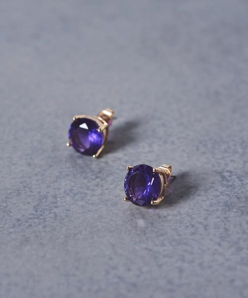 UBCS 單寶石耳環
