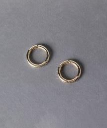 UWSC 圓環耳環 GOLD