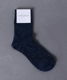 UWCS 金絲 中筒襪 2