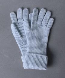 <JOHNSTONS>喀什米爾羅紋手套