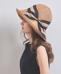 【特別訂製】<Athena New York>RISAKO TANBODY 直條紋 遮陽帽