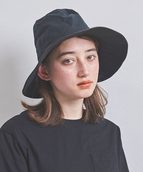 <KIJIMA TAKAYUKI>CTN/LI 寬帽簷 軟結構 漁夫帽