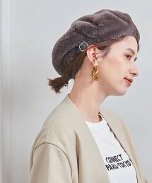 <KIJIMA TAKAYUKI>PL/FUR 貝雷帽 日本製