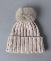 UWCS 毛球羅紋毛帽