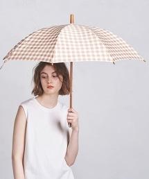 UWSC 小方格格紋 平織布 晴雨兩用 傘