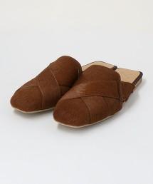 <KMB>皮革 流線型涼鞋