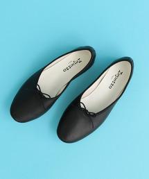 【復刻特別訂製】<repetto>∴MANON 皮革芭蕾舞鞋