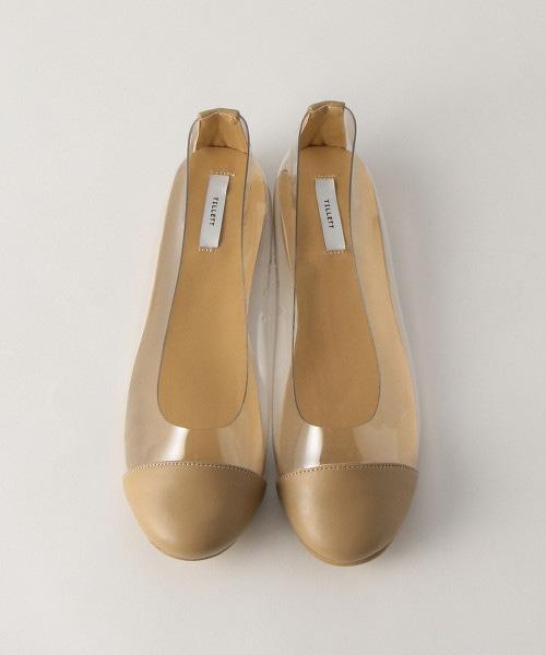 <TILLETT>圓頭透明芭蕾舞鞋