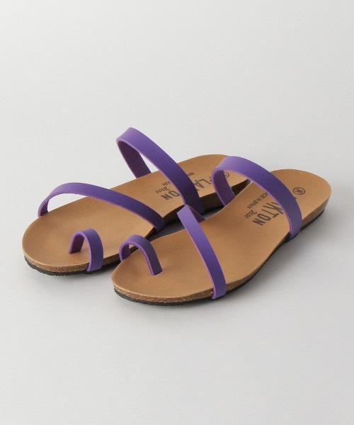 <PLAKTON>鏤空設計涼鞋