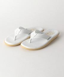 <ISLAND SLIPPER>皮革夾腳涼鞋