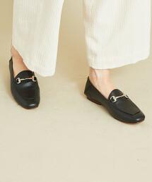 【特別訂製】<CAMINANDO>∴方楦頭 皮革馬銜樂福鞋 -2WAY-