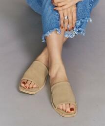 【特別訂製】<CAMINANDO>麂皮 流線型 涼鞋