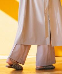 <MARISA REY>鉤針 後側細帶 涼鞋