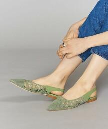 <MARISA REY>鉤針 後側細帶 涼鞋 OUTLET商品