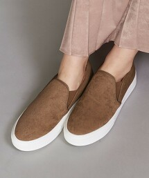 <MOHI...>短絨毛皮革懶人鞋