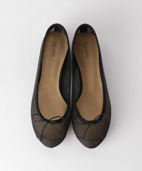 <BEVERLY>網眼 芭蕾舞鞋