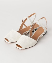 <nereana>皮革魚口涼鞋 OUTLET商品