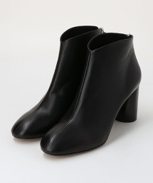 <QUARTIERGLAM>查卡高跟皮革短靴