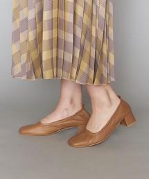 <BEVERLY>皮革抓皺包鞋