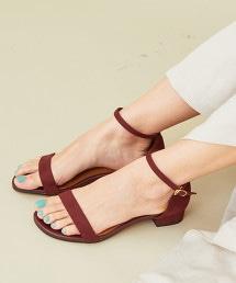 BY∴ 腳踝細帶涼鞋2.5