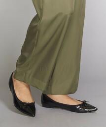 BY 柔軟尖頭皮革芭蕾舞鞋 日本製