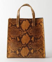 <ANDREA CARDONE>蛇紋皮革托特包
