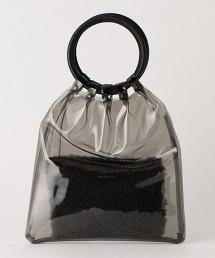 【特別訂製商品】<MORMYRUS>皮革×透明包包