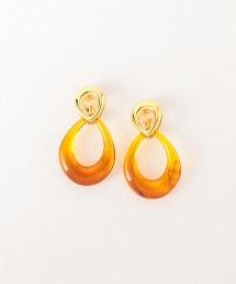 <LUCAS JACK>雙水滴型耳環 OUTLET商品
