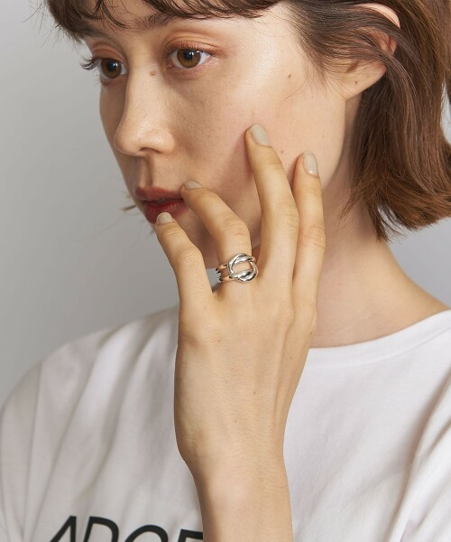 <PHILIPPE AUDIBERT>DIANA 戒指/鍍銀 法國製