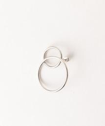 <JUSTINE CLENQUET>LEA 銀色 單耳耳釘