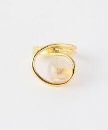 <JAMIRAY>圓形石 戒指