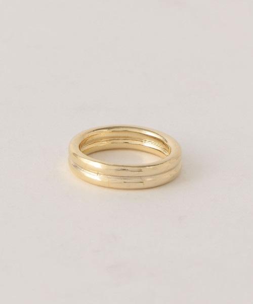 BY 雙環戒指