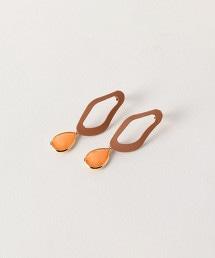 BY 變形彩色水滴耳環