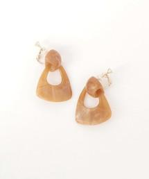 BY 大理石紋耳環
