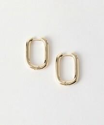 BY 金屬方形耳環