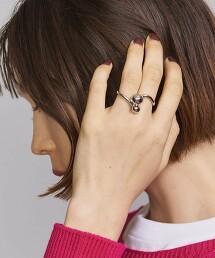 BY 球形 戒指