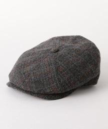 【特別訂製商品】<GRILLO>格紋獵帽