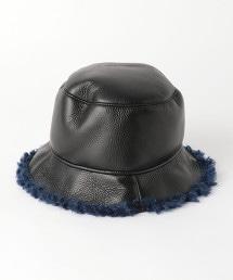 【特別訂製】<GRILLO>仿羊毛水桶帽