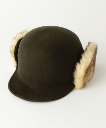 BY 仿毛皮羊毛氈帽