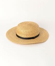 BY 平頂帽 緞帶 草帽